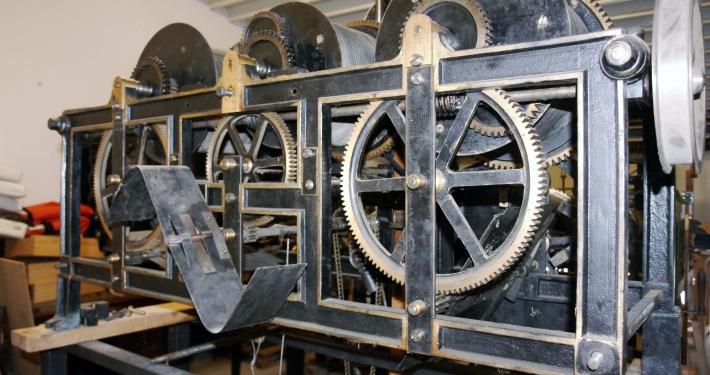 Industrielle Turmuhr um 1961 (Bild 7)