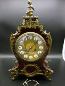 französische Tischuhr Kaminuhr Uhrwerk Joh. Hartmann Berlin Pendule