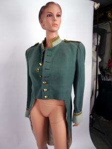 alter Uniformrock grün