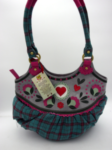 Damen Tasche Taj Wood Scherer Herz