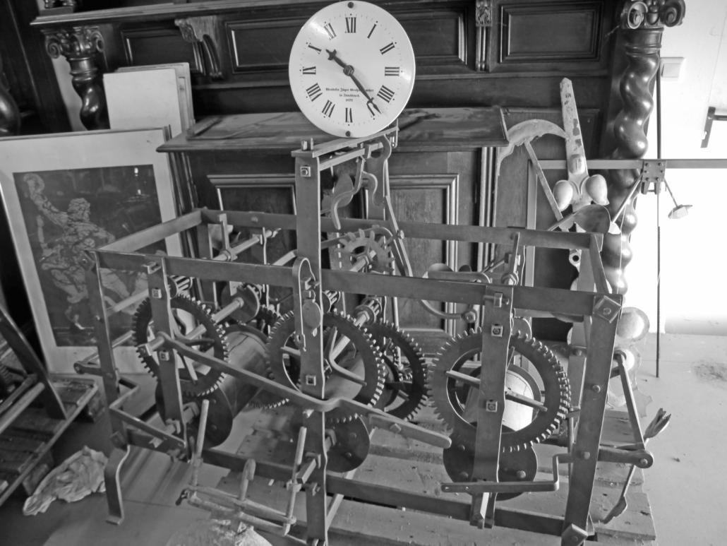 Wendelin Jäger Turmuhr 1872